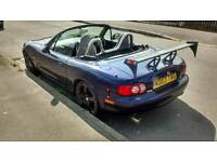 Mazda MX-5 nevada special edition 1.8 soft top convertable