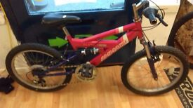 """Ammaco pink panther 20"""" wheels suit rider age 8yrs working order"""