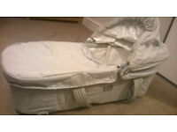 Folding Baby Carry Cot with Mattress (Great condition)