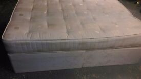Double Divan Bed & Mattress