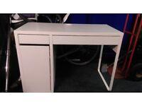 Cheap WHITE MICKE White Computer Desk
