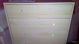 Light Beech Effect Drawers