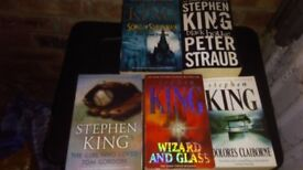 Stephen king books for sale