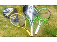 Job lot - Three Tennis Racket's - used but in good condition - Bargain Offer
