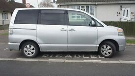 toyota voxy imported into uk 01/06/2015 auto with disabled wheelchair sliding doors either side