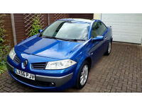 Renault Megane Dynamique 1.5 Dci 6 speed manual Hard top convertable, low miles , FSH