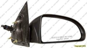 Door Mirror Manual Passenger Side Coupe PONTIAC PURSUIT 2005-2010