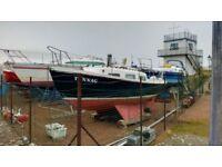 Sunrider 25 sailing boat