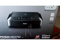 PIXMA MG5750 Inkjet printer. Never Used, still in box.