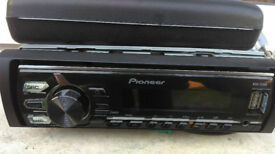 Pioneer car cd player with USB port