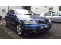 Vauxhall Astra 1.6 i 16v SXi 5dr. Spares and Repair (without MOT)