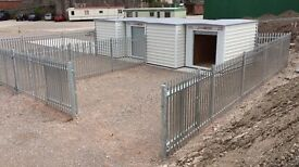 Secure fenced yard of approx 800 sq ft with indoor unit (96 sq ft) 24h access. CCTV. Near Sixth Form