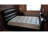 Tv In Bed : Tv double beds for sale gumtree