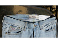 Hollister Jeans - 3 S w26 l29 - BRAND NEW WITH TAGS