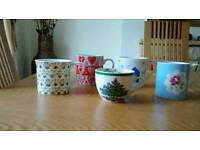 5 Assorted Brand New Mugs/Cup