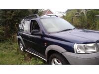 Land Rover freelander auto