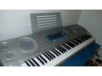 Casio WK 3000 keyboard & keyboard stand- £40 for both