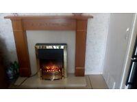 Beautiful electric fire suite
