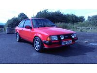 Escort XR3i mk3 1 previous lady owner with only 76k
