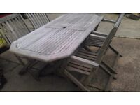 Teak wood Table & Chairs FREE delivery