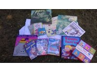 Children's books games dvd's