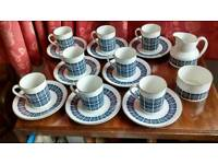 Vintage Royal Doulton coffee set