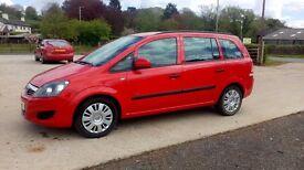 2011 Vauxhall zafira 1.7 cdti*NEW CAMBELT*
