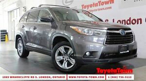 2014 Toyota Highlander Hybrid LIMITED LEATHER NAVIGATION BLIND S