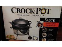Crock Pot 4.7l slow cooker £10 ONO