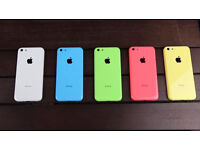 APPLE IPHONE 5C UNLOCKED WITH RECEIPT AND WARRANTY