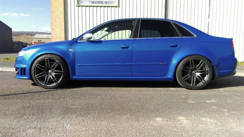 2006 Audi Rs4 B7 Sprint Blue Mrc Stage 2 Lovely Spec In