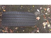 1 x TYRE GOODRIDE SA07 215/45 ZR17 91W M+S (almost new)