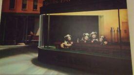 Caroline Shotton boxed canvas - Last Udders at the Bar