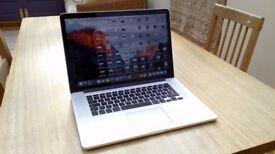 Macbook Pro 15 inch, bought in 2016 in original packaging
