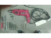 Drill Hammer Drill and Extras