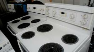 4 COIL TOP STOVES AVAILABLE PRICED EACH --ALL WORKING ! AND IN GOOD CONDITION