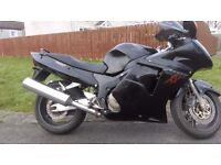 cbr 1100xx blackbird NOW REDUCED TO SELL