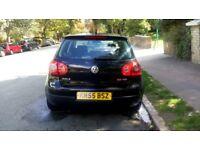 Black Volkswagen Golf GT - 2.0 TDI (60750 Miles ONLY!)