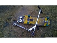 2x Hot Wheels Scooter and 1xSkate Board £10 ONO