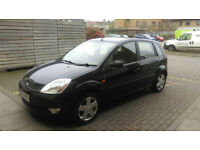 2005 Ford Fiesta Zetec Climate – 1.2 – Black –First to see will buy –OPEN TO SENSIBLE OFFERS!!!