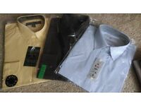 ABSOLUTE BARGAIN!!! 3 shirts, size 16.5. Next, Elliette Jones & BHS, only £8 for all 3 or £3 each!!!