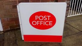 Post Office Sign .
