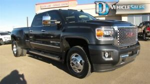 2017 GMC Sierra 3500HD DENALI, 4X4, DUALLY, DIESEL, LEATHER