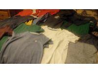 Boys age 9-10 bundle t-shirts long and short sleeved