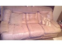 Sofa and cross trainer