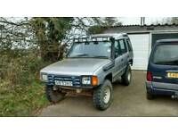1990 land rover discovery 3.5 v8 lpg/petrol off roader project