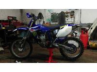 yamaha yzf450 2004 motocross bike