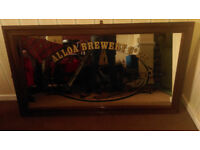 Alloa Brewery Pub Mirror (Collection only) (Great condition)