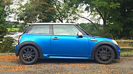 Electric Blue Mini John Cooper Works Cooper S - Low Miles, MOT May 2018, Full Service History