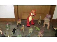 Huge lot of 35 dinosaurs, including Screature, Imaginex...!